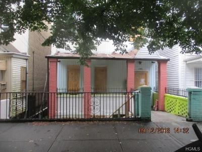 Bronx Multi Family 2-4 For Sale: 1141 Beach Avenue