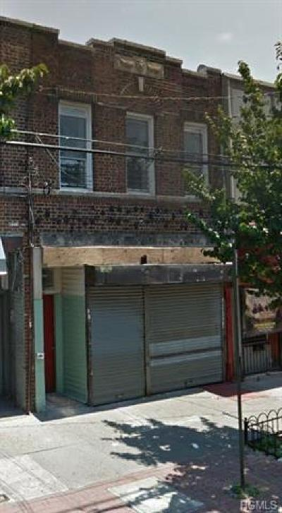 Bronx Commercial For Sale: 3712 White Plains Road