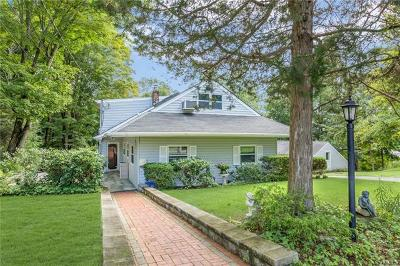 Briarcliff Manor Single Family Home For Sale: 4 Gordon Avenue