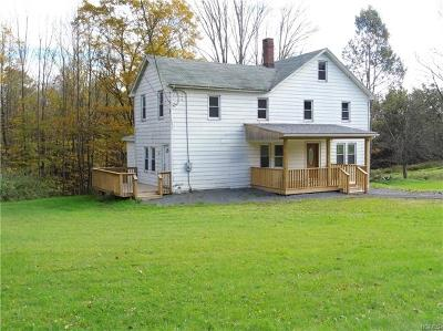 Woodbourne Single Family Home For Sale: 65 Old State Route 52