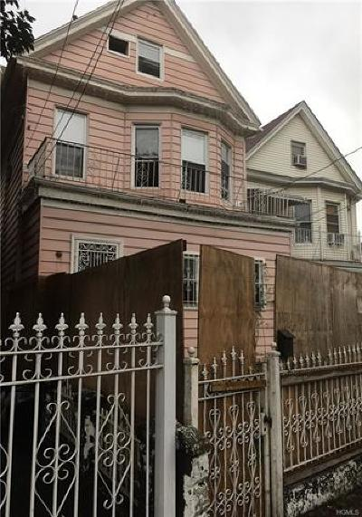 Bronx Residential Lots & Land For Sale: 2648 Bainbridge Avenue