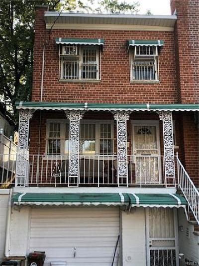 Bronx Single Family Home For Sale: 3911 De Reimer Avenue