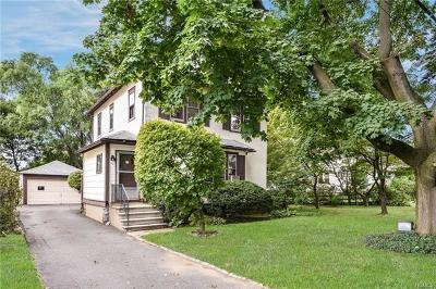 Westchester County Single Family Home For Sale: 34 Ridge Street