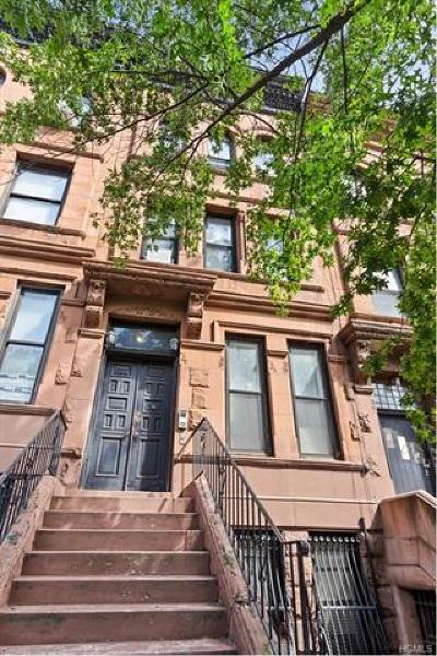 New York Multi Family 2-4 For Sale: 417 West 141st Street
