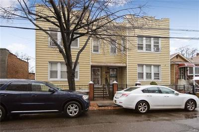 Bronx Multi Family 2-4 For Sale: 511 Edison Avenue