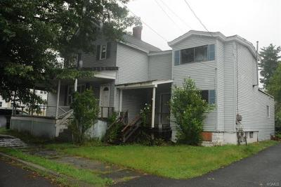 Port Jervis Single Family Home For Sale: 42 Barcelow Street