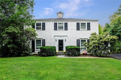 Scarsdale NY Single Family Home For Sale: $999,999