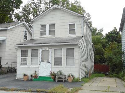 Port Jervis Single Family Home For Sale: 8 Delaware Street