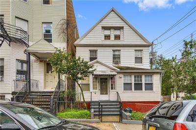 Yonkers Multi Family 2-4 For Sale: 62 Ash Street