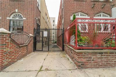 Bronx County Multi Family 2-4 For Sale: 1642 Montgomery Avenue