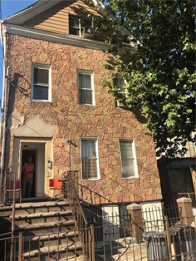 Bronx County Multi Family 2-4 For Sale: 1141 Wyatt Street