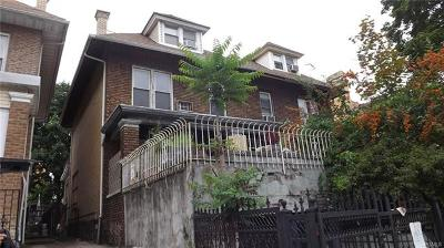 Bronx County Single Family Home For Sale: 2215 Dr Martin L King Jr Boulevard