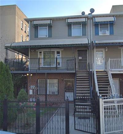 Bronx County Multi Family 2-4 For Sale: 604 Beech Terrace