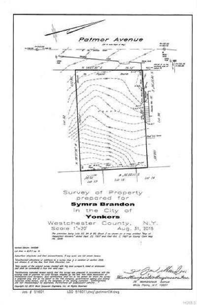 Yonkers Residential Lots & Land For Sale: 66 Patmor Avenue