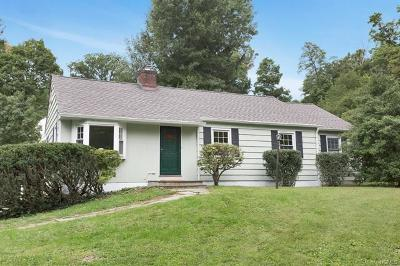 Chappaqua Single Family Home For Sale: 16 Brook Lane