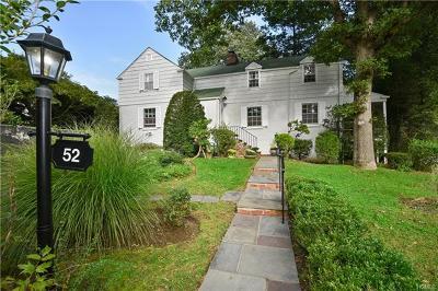 Larchmont Single Family Home For Sale: 52 Villa Road