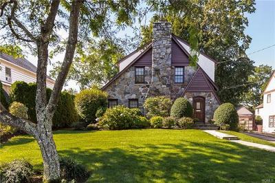 Scarsdale Single Family Home For Sale: 38 Tudor Lane