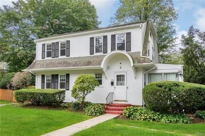Scarsdale Single Family Home For Sale: 2 Dickel Road