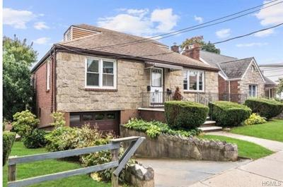 Yonkers Single Family Home For Sale: 92 Catskill Avenue
