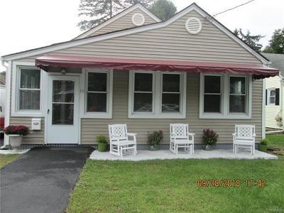 Port Jervis Single Family Home For Sale: 18 Dubois Street