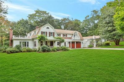 Chappaqua Single Family Home For Sale: 1 Pondfield Drive South