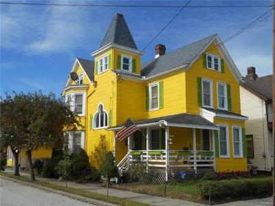 Port Jervis Single Family Home For Sale: 83 Ball Street