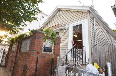 Bronx Single Family Home For Sale: 3269 Barkley Avenue