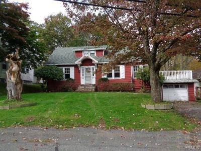 Monticello Single Family Home For Sale: 153 Pleasant Street Ext.