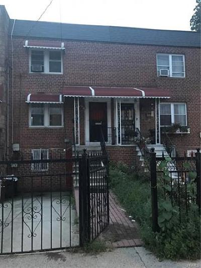 Bronx Single Family Home For Sale: 4153 Paulding Avenue