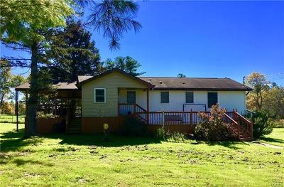 White Lake NY Single Family Home For Sale: $159,000
