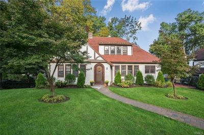 Scarsdale Single Family Home For Sale: 1 Bronson Avenue