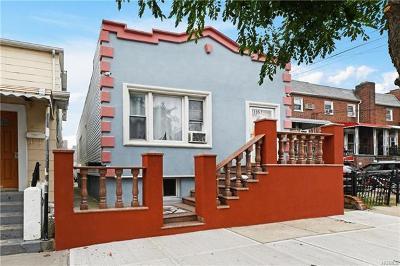 Bronx Single Family Home For Sale: 1957 Edison Avenue