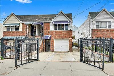 Bronx Single Family Home For Sale: 2065 Homer Avenue