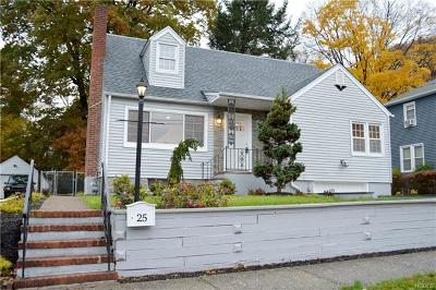 Rockland County Single Family Home For Sale: 25 Highland Avenue