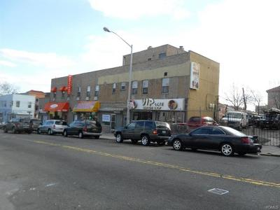 Bronx County Commercial For Sale: 1748-1758 East 174th Street