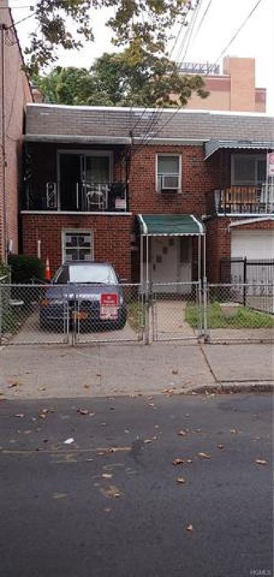 Bronx Multi Family 2-4 For Sale: 3982 Carpenter Avenue