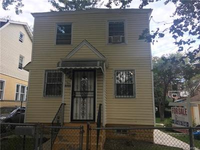 Single Family Home For Sale: 4334 Wilder Avenue