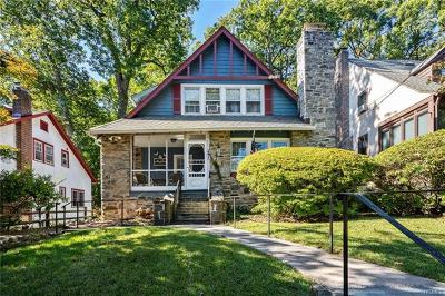 Hastings-On-Hudson Single Family Home For Sale: 21 Kent Avenue