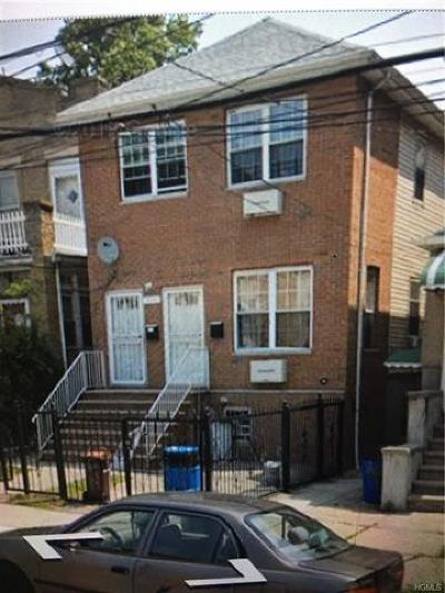 Bronx NY Multi Family 2-4 For Sale: $770,000