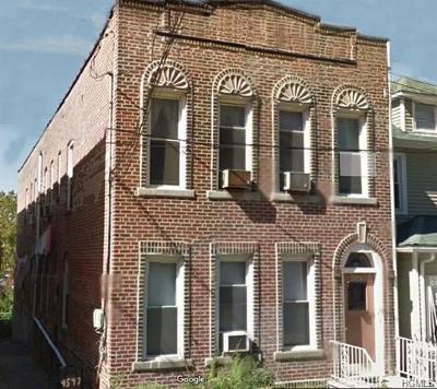 Bronx Multi Family 2-4 For Sale: 4547 Carpenter Avenue