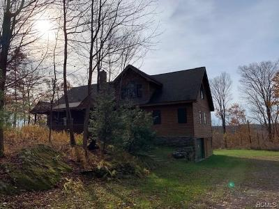 Livingston Manor Single Family Home For Sale: 162 Meyers Road
