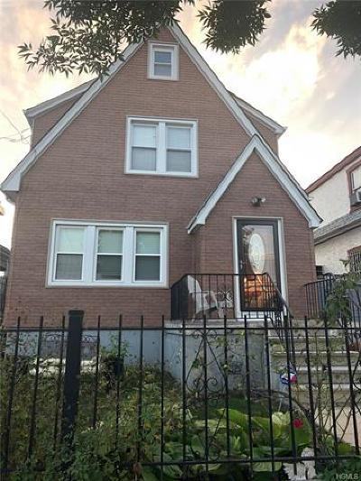 Bronx Single Family Home For Sale: 3315 Kingsland Avenue