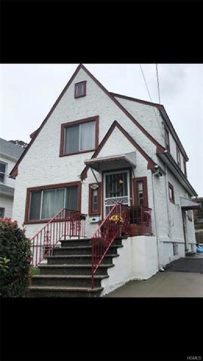 Bronx Single Family Home For Sale: 3319 Kingsland Avenue