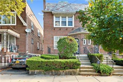 Bronx Single Family Home For Sale: 3318 Wilson Avenue