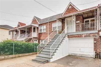 Bronx Multi Family 2-4 For Sale: 2731 Fenton Avenue