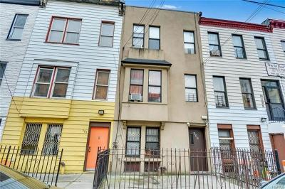 Multi Family 2-4 For Sale: 522 East 148th Street