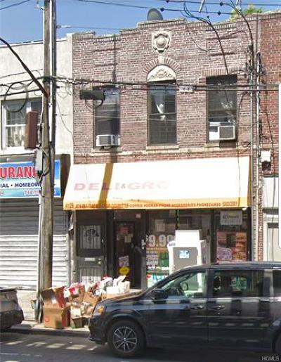 Bronx County Commercial For Sale: 4129 White Plains Road