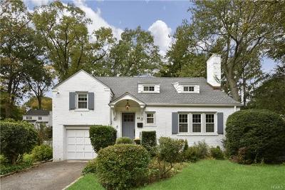New Rochelle NY Single Family Home For Sale: $849,000