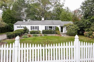 Rye NY Single Family Home For Sale: $1,299,000