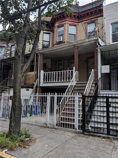 Bronx NY Multi Family 2-4 For Sale: $550,000